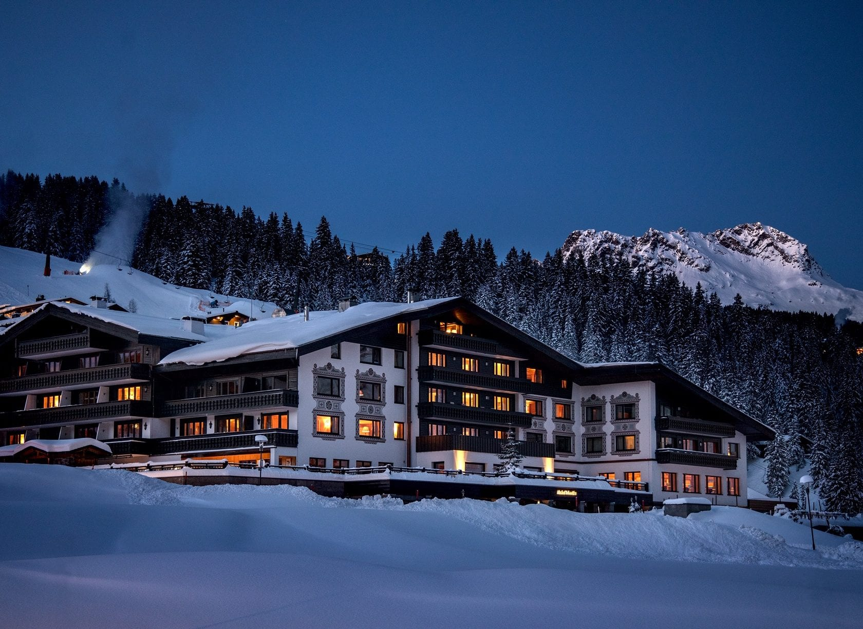Ski Inn/Ski Out Hotel in Lech am Arlberg