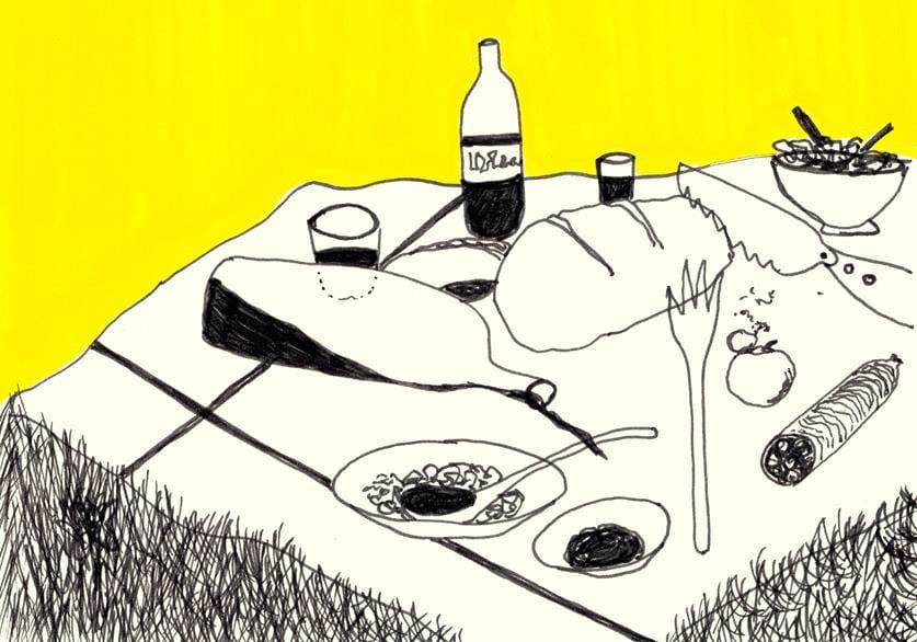 Picknick im Zugertal, Lech
