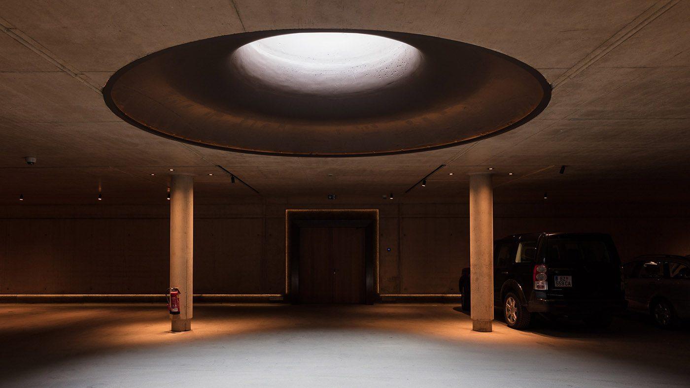 Almhof Schneider garage